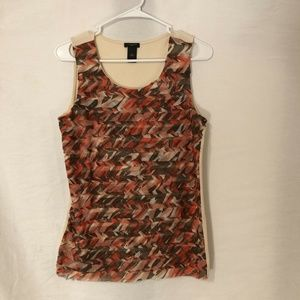 Ann Taylor Medium Blouse Sleeveless